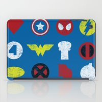super heroes iPad Cases featuring Super Simple Heroes by Resistance