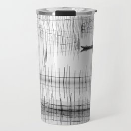 Fishing and Bamboos Travel Mug