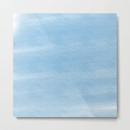 Chalky background - blue Metal Print