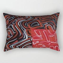 Maze Rectangular Pillow