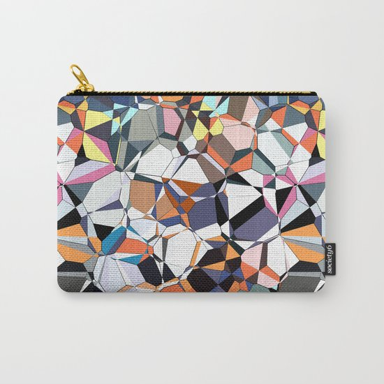 Abstract Geometric Chaos Carry-All Pouch