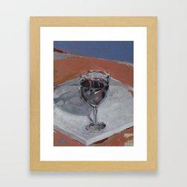 Copa sobre llenç Framed Art Print