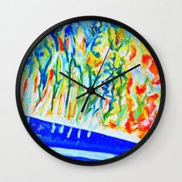River's edge Wall Clock