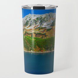 Mount Tate Autumn Landscape Travel Mug