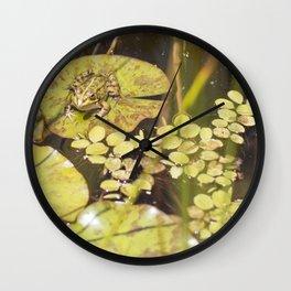 frogger... Wall Clock