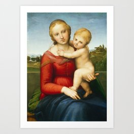 The Small Cowper Madonna Art Print