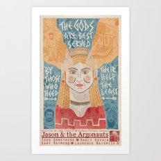 Jason & the Argonauts Art Print