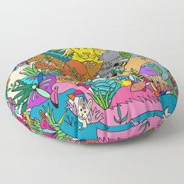 Animal Kingdom Floor Pillow