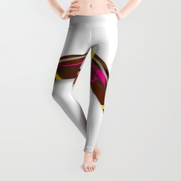 Decorated Boomerang Leggings