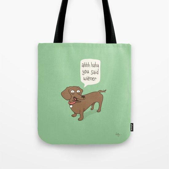 Immature Dachshund Tote Bag