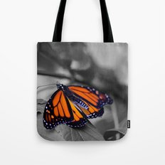 Monarch BW Tote Bag