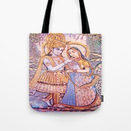 Hare Krishna Love Tote Bag