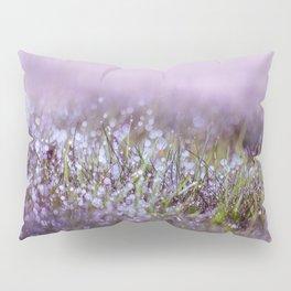 Morning dew on grass Pillow Sham