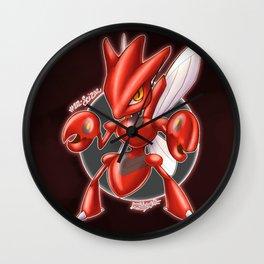 212- Scizor Wall Clock