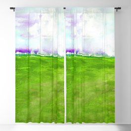 Journey No.600o by Kathy Morton Stanion Blackout Curtain
