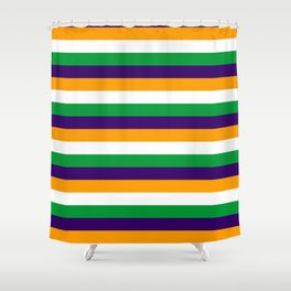 India flag stripes Shower Curtain