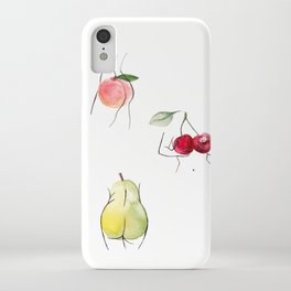 fruity ladies iPhone Case