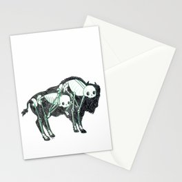 Bison Animus Stationery Cards