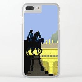 Vienna Austria Vintage Travel Clear iPhone Case