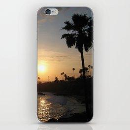 Laguna Beach Sunset iPhone Skin
