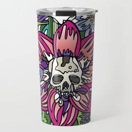 """Skull Garden III"" by Schmiedlin 2013 Travel Mug"