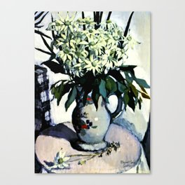 """Flannel Flowers"" by Australin Margaret Preston Canvas Print"