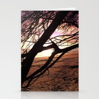 bebop Stationery Cards featuring Early morning beach walks are filled with treasures by Donuts