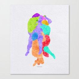 La Femme Damnée Canvas Print