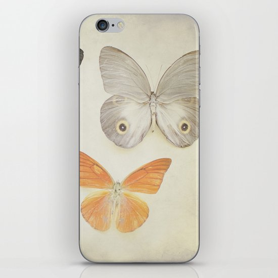 Brown Butterflies  iPhone & iPod Skin
