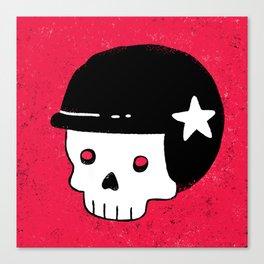 skull dude Canvas Print
