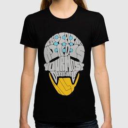 "Zenyatta Typography - ""A Disciplined Mind"" T-shirt"
