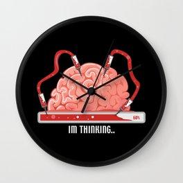 I'm Thinking. - Gift Wall Clock
