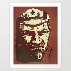 Vladimir Ilyich Lenin Art Print