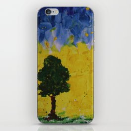 YELLOW SKIES iPhone Skin