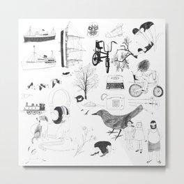 Dreams and bits and bobs Metal Print
