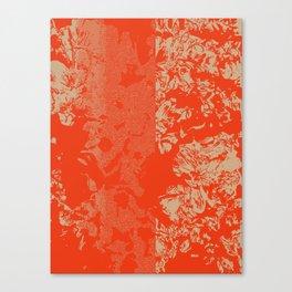 Vermillion Azaleas Canvas Print