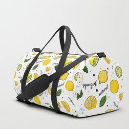 Lemon mix Duffle Bag