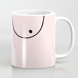 pink boobs Coffee Mug