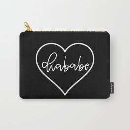 Diababe - Black Carry-All Pouch