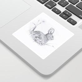 Bunny in the Field Sticker