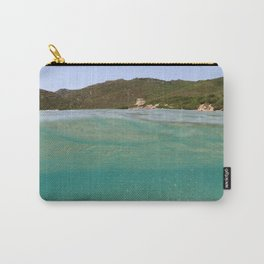 Sardinia underwater - emerald Carry-All Pouch