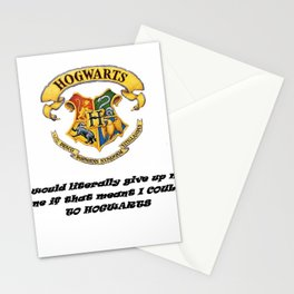 Anything FOR Hogwarts Stationery Cards