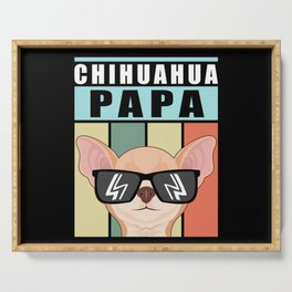 Chihuahua Papa | Dog Owner Gift Serving Tray