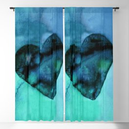 Heart Dreams 2I by Kathy Morton Stanion Blackout Curtain