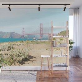 Golden Gate Bridge Beach Wall Mural
