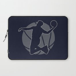 Basketball Player II (monochrome) Laptop Sleeve