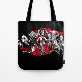 RHPS - gang of six toon party Tote Bag