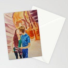 Commissoned piece - Couple in Antelope Canyon, Arizona Stationery Cards