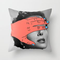 Burning Hands Throw Pillow