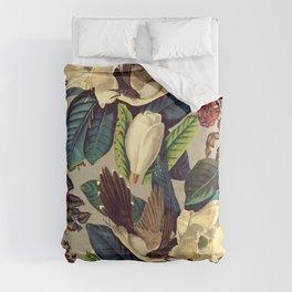 FLORAL AND BIRDS XXI-II Comforters